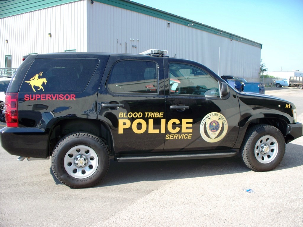 Blood Tribe Police Vehicle Decals