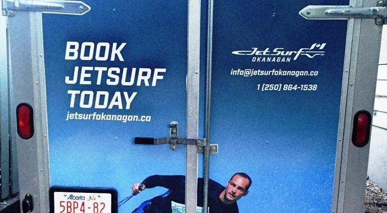 JetSurf Trailer Wrap